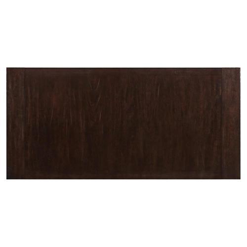 Rosemoor - Trestle Dining Table Top - Burnt Caramel Finish