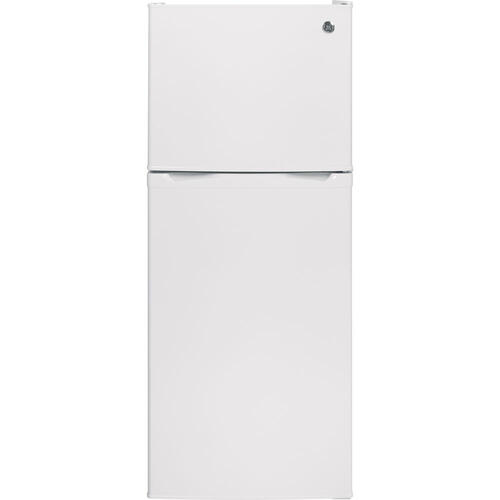 GE 11.55 cu.ft. Top Freezer Refrigerator White GPE12FGKWW