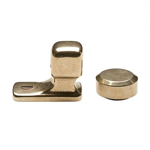 Rocky Mountain Hardware - Magnetic Door Stop - DSH205 White Bronze Brushed