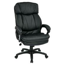 See Details - Oversized Faux Leather Executive Chair