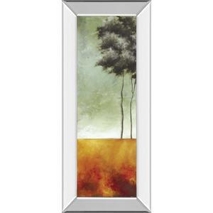 """Palms Right"" Mirror Framed Print Wall Art"