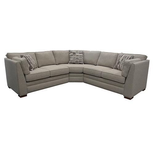 Capris Furniture - 260 Sectional