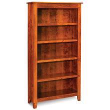 See Details - Shenandoah Open Bookcase, 5 Adjustable Shelves