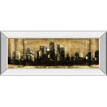 """Defined City Il"" By Sd Graphic Studio Mirror Framed Print Wall Art"