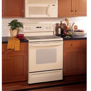 """GE Profile Spectra 30"""" Free-Standing QuickClean Electric Range"""