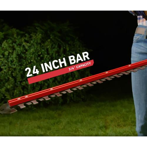 """60V MAX* Electric Battery 24"""" (60.96 cm) Hedge Trimmer Bare Tool (51840T)"""