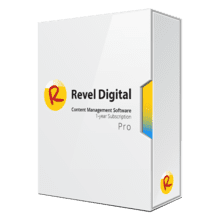 Revel Digital CMS Pro Subscription Software