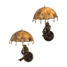 See Details - PARASOL SCONCE (PAIR)