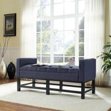 CLAREMONT UPHOLSTERED BENCH