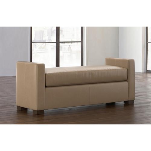 Bassett Furniture - Belmont Leather Bench