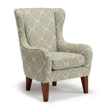 *FURNITURE OUTLET* LORETTE Wing Back Chair IN JASPER