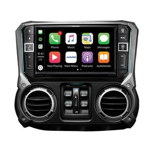 Alpine - 9-Inch Weather-Resistant Navigation System with Off-Road Mode for the 2011 2018 Jeep Wrangler