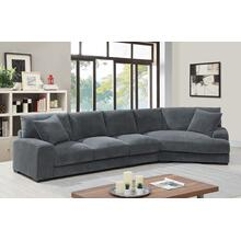 Big Chill Charcoal Sectional, U2249B