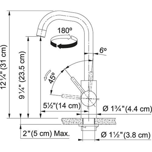 Franke - Kubus FFB4250 Stainless Steel