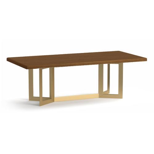Bassett Furniture - Astor Oak Rectangle Dining Table