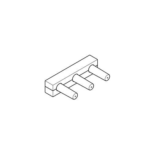 Dornbracht - Rough for wall-mounted faucet spout on left -