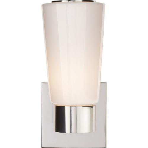 Visual Comfort BBL2105SS-WG Barbara Barry Acme 1 Light 4 inch Soft Silver Decorative Wall Light