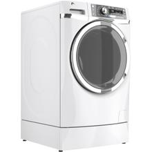 Used GE® ENERGY STAR® 4.8 DOE cu. ft. capacity RightHeight Design Front Load washer