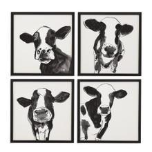 4 Pc Cow Contour