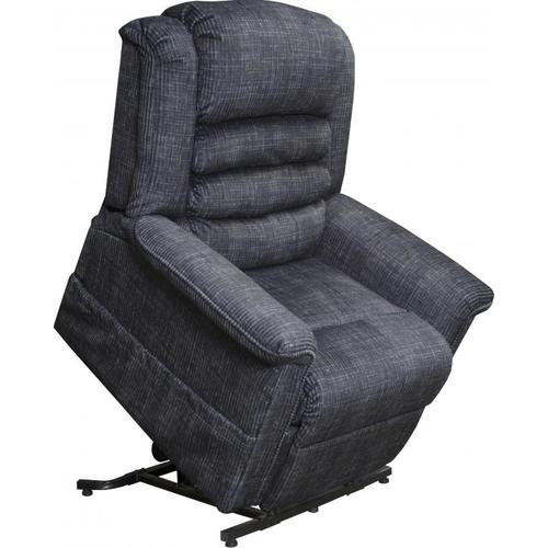 Catnapper 4825 Smoke Power Lift Recliner w/Heat and Massage