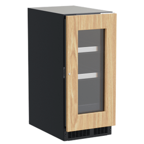 15-In Professional Built-In Beverage Center With Reversible Hinge with Door Style - Panel Ready Frame Glass
