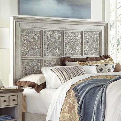 Liberty Furniture Industries - Queen Decorative Panel Headboard