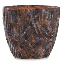 See Details - BARNSLEY  13in w X 11in ht X 13in d  Artative Textured Eco Paper Pot