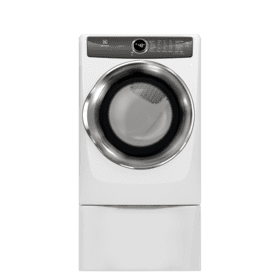 Front Load Perfect Steam™ Electric Dryer with LuxCare® Dry and Instant Refresh - 8.0 Cu. Ft.