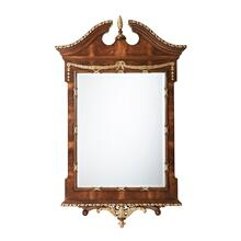 The India Silk Bedroom Wall Mirror