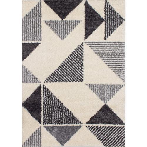 Fergus 12566 White Grey 8 x 11