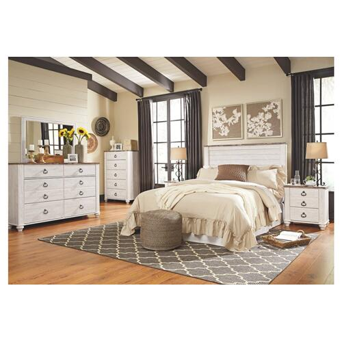B267 Five Drawer Chest (Willowton)