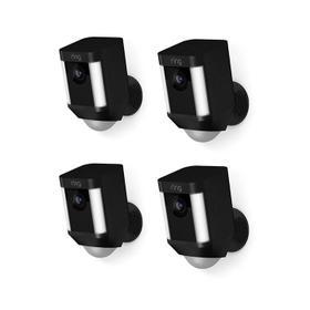 4-Pack Spotlight Cam Battery - Black
