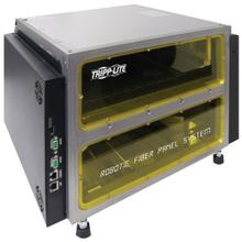 Robotic Fiber Panel System with Mini Chassis - 204 Singlemode LC Fiber Ports