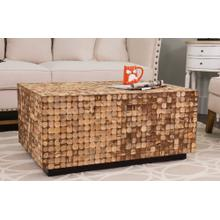 See Details - New Hampton Cocktail Table Rectangle-Natural Bliss (24X35X16)