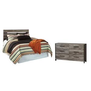 Queen Panel Headboard With Dresser