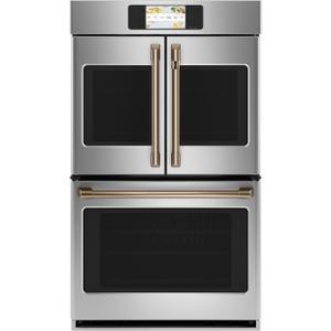 """Cafe AppliancesCaf(eback)™ 2 French-Door Handles; 1 - 30"""" Handle - Brushed Bronze"""