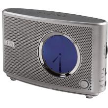 Clock radio with analog or digital display option