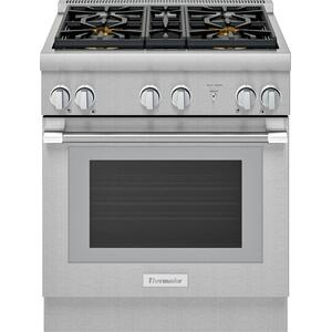 Thermador30-Inch Pro Harmony® Standard Depth Gas Range PRG304WH