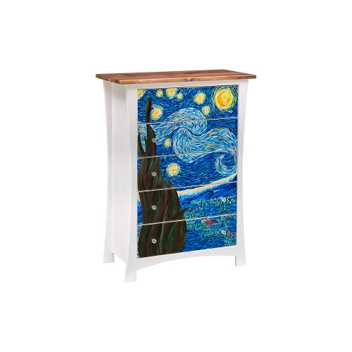 Green Gables Furniture - Starry Night 5 Drawer Chest