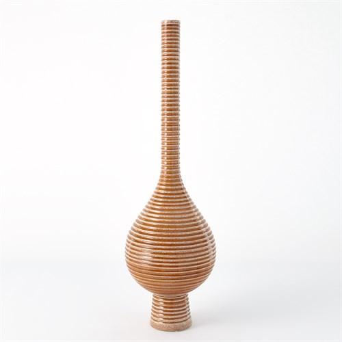 Japan Vase-Orange-Med