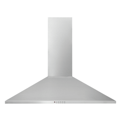 See Details - Frigidaire 36'' Stainless Canopy Wall-Mount Hood