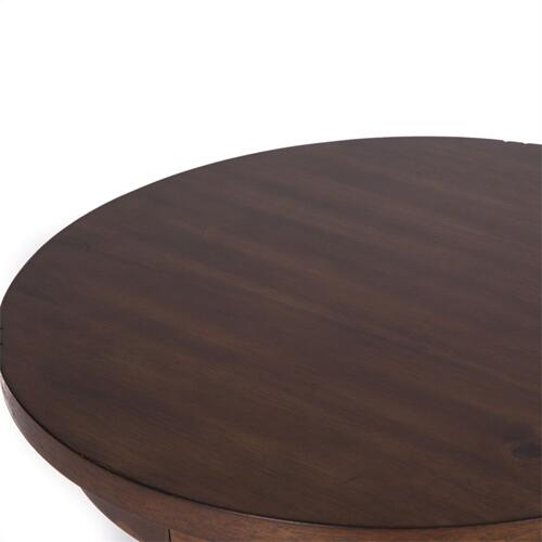 Chair Side Table in Cobblestone Brown Finish  FLOOR SAMPLE - ASIS   (411-OT1021,58247,ID#10135)