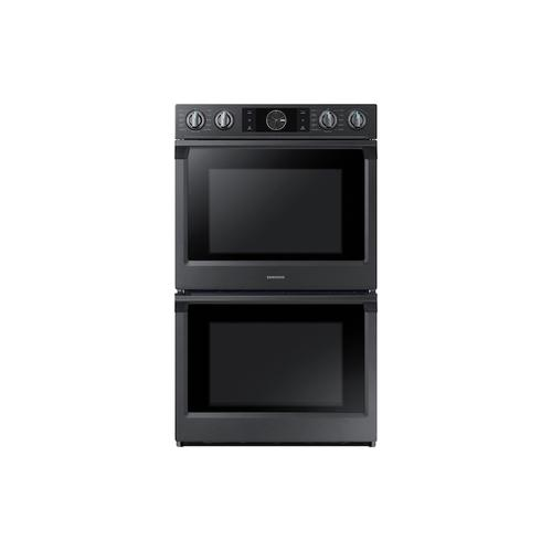 "30"" Smart Double Wall Oven with Flex Duo™ in Black Stainless Steel"