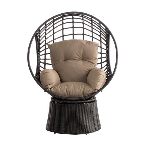Nadine Deep Seat Swivel Tear Drop Lounger Sunbrella® Cushion Inclusive