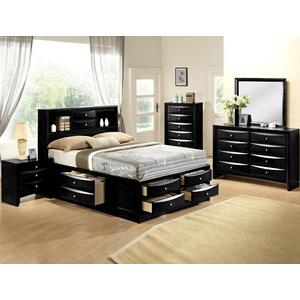 Black Emily Night Stand