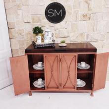 See Details - Cabinet Mesquite Wood Top - Model 1239 C