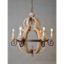 See Details - Old World 6-Light Chandelier