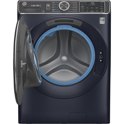 GE® 5.8 cu. ft. (IEC) Capacity Washer with Built-In Wifi Sapphire Blue - GFW850SPNRS
