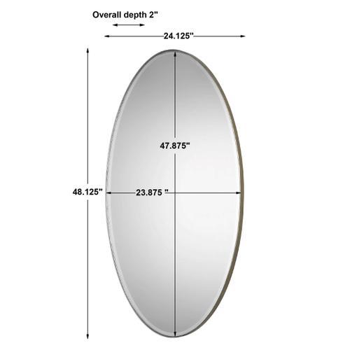 Uttermost - Petra Oval Mirror