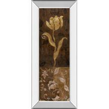 """Golden Tulip Il"" By Tava Studios Mirror Framed Print Wall Art"